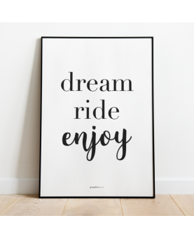 Plakat Dream Ride Enjoy