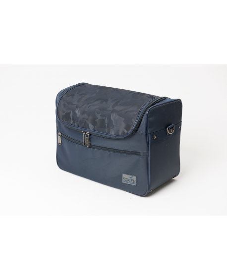SOMÉH Grooming Bag Classic Equestrian Blue